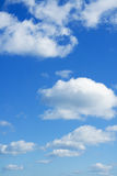 Heaven. Beautiful cloudscape over horizon. Royalty Free Stock Images