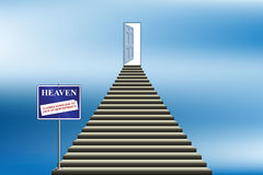 Heaven closing down Stock Images