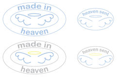 Heaven Collection Stock Image