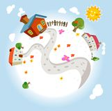 Heaven the dream land Royalty Free Stock Images