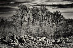 Heaven&Earth που στέκεται στους λόφους Στοκ Εικόνα