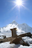 Heaven on earth from nepal Royalty Free Stock Photos