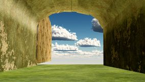 Heaven entrance Stock Photography