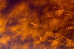Heaven on fire Stock Images