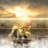 Heaven Gate stock image