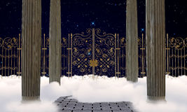 Heaven gates Royalty Free Stock Photos