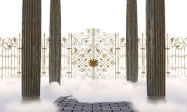 Heaven gates vector illustration