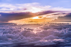 Heaven Grand of clouds and skyscape Stock Photo
