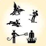 From Heaven and Hell Stock Photos