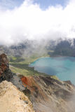 Heaven Lake of Changbaishan Stock Photo