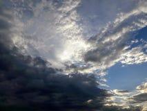 Heaven. Pasada la tormenta sky royalty free stock photo