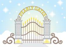 Heaven Pearly Gate vector Stock Photos