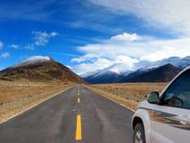 heaven road to Στοκ φωτογραφία με δικαίωμα ελεύθερης χρήσης
