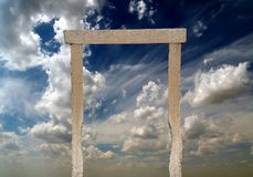 Heaven's gate Royalty Free Stock Photography