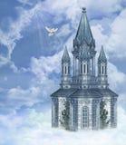 Heavens Gate 4. 3d render of Heavens Gate 4 Royalty Free Stock Photo