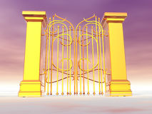 Heaven's Gate Royalty Free Stock Images