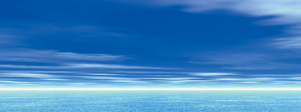 Heaven & sea Stock Photos