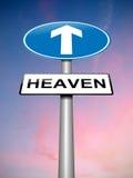 Heaven sign concept. Stock Photos