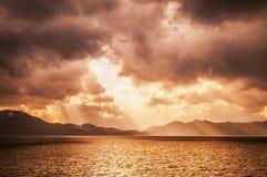 Heaven sky, Divine sky, Divene light Royalty Free Stock Photo