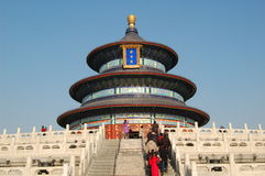 Heaven Temple. The Temple of Heaven in Beijing Royalty Free Stock Images