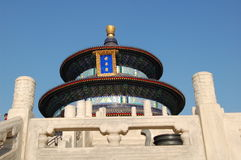 Heaven Temple. The Temple of Heaven in Beijing Stock Images