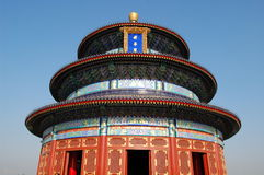 Heaven Temple. The Temple of Heaven in Beijing Stock Photography