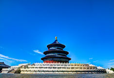 Heaven temple in beijing, china Royalty Free Stock Photo