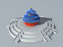 Heaven, Temple, China, Architecture Stock Image