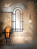 Heaven window Royalty Free Stock Image