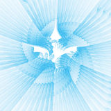 Heaven wings. Blue heaven wings abstract clean background Royalty Free Stock Images