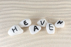 Heaven word Stock Images