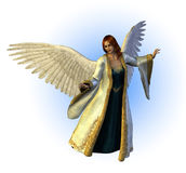 Heavenly Angel stock illustration