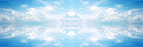 Heavenly Banner Royalty Free Stock Photos
