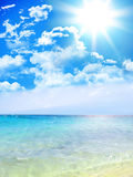 Heavenly Beach Royalty Free Stock Photos