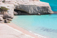Heavenly beach and crystal clear water Royalty Free Stock Photo