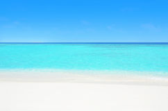 Heavenly beach Stock Images