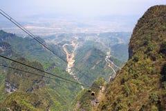 heavenly bergsikt Royaltyfri Fotografi