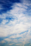 Heavenly blue sky Royalty Free Stock Image