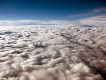 Heavenly clouds. As seen from a plane Royalty Free Stock Photos
