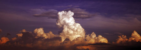 Heavenly clouds Royalty Free Stock Photo