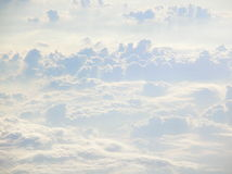 Heavenly Clouds. Pastel and beautiful heavenly-looking clouds Royalty Free Stock Photography