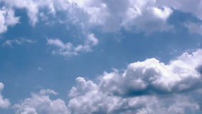 Heavenly clouds time lapse, stock footage. Video stock video footage