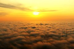 Heavenly Cloudscape Stock Photos