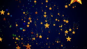 Heavenly Colorful Stars vector illustration