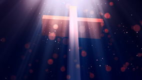 Heavenly Cross 2 Loopable Background royalty free illustration