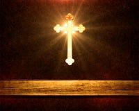 Heavenly Cross Stock Photography