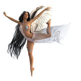 Heavenly dancer Royalty Free Stock Images