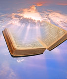 Heavenly divine bible Stock Images
