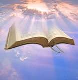 Heavenly divine bible Royalty Free Stock Photo