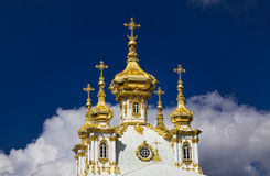 Heavenly domes Royalty Free Stock Images